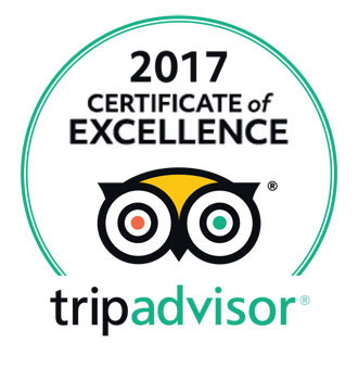 Certificate of Excellence 2017 - Tripadvisor - Riad Layalina