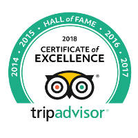 Certificate of Excellence 2018 - Tripadvisor - Riad Layalina