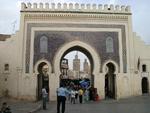Bab Boujloud Fes, la porte bleue
