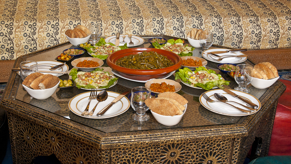 Dinner at Riad Layalina