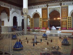 History of Fes medina Morocco